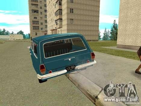 GAZ Volga 24-12 for GTA San Andreas right view