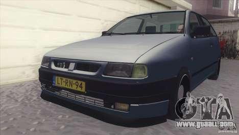 Seat Ibiza GLXI 1.4 1994 for GTA San Andreas