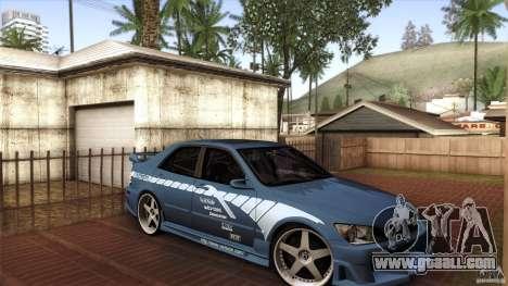 Lexus IS 300 Veilside for GTA San Andreas