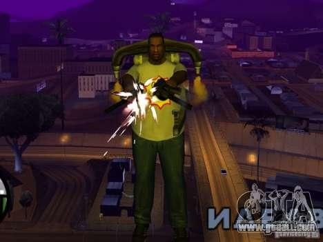 New t-shirt for GTA San Andreas forth screenshot