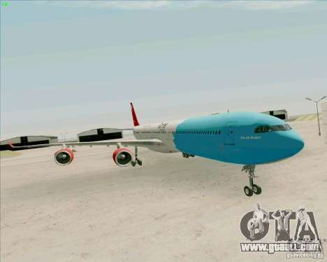 Airbus A-340-600 Plummet for GTA San Andreas