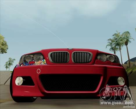 BMW E46 for GTA San Andreas left view