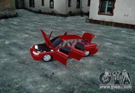 VAZ 2110 for GTA 4 upper view