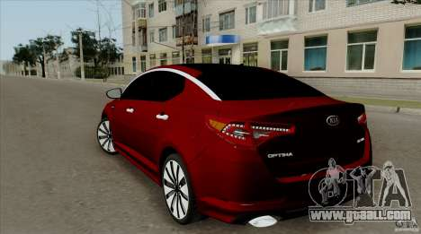 KIA Optima for GTA San Andreas left view