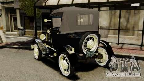 Ford Model T 1926 for GTA 4 back left view