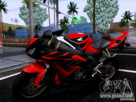Honda CBR 600 RR for GTA San Andreas