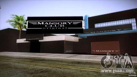 Mansory Club Transfender & PaynSpray for GTA San Andreas