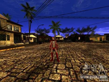 Iron Man 3 Mark V for GTA San Andreas third screenshot