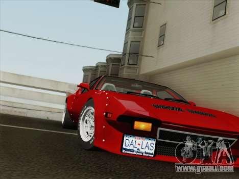 De Tomaso Pantera GT4 for GTA San Andreas side view