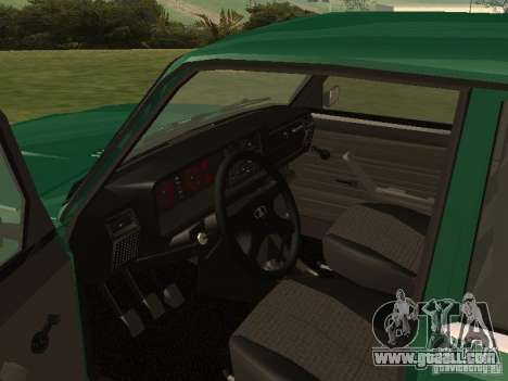 VAZ 2107 1988 for GTA San Andreas right view