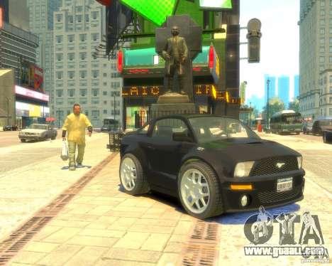 Ford Mustang Mini GT Beta for GTA 4