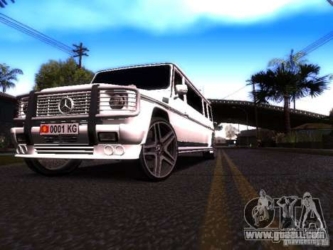 Mercedes-Benz G500 Limousine for GTA San Andreas