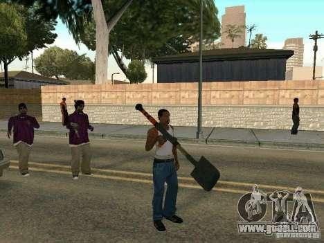 Lopatomët for GTA San Andreas second screenshot