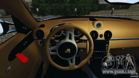 Porsche Cayman R 2012 [RIV] for GTA 4 wheels