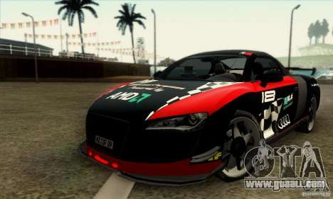 Audi R8 Spyder Tunable for GTA San Andreas right view