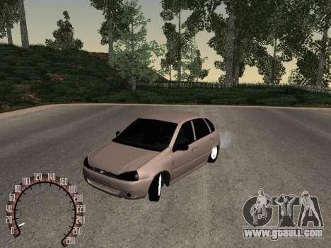 LADA 1119 for GTA San Andreas