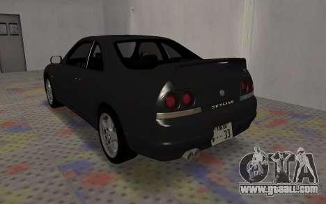 Nissan Skyline GTS25T (R33) for GTA San Andreas