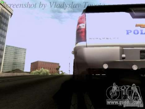 Chevrolet Avalanche 2007 for GTA San Andreas side view