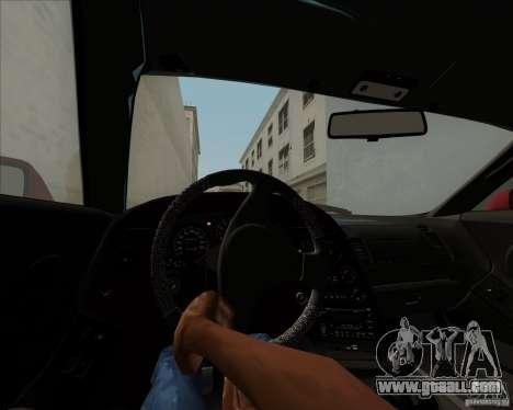 Toyota Supra RZ 98 Twin Turbo for GTA San Andreas upper view