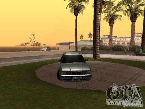 BMW E34 540i V8 for GTA San Andreas right view