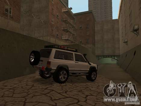 Jeep Cherokee Sport for GTA San Andreas back view