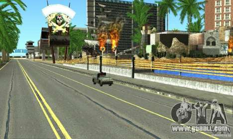 Real HQ Roads for GTA San Andreas eleventh screenshot