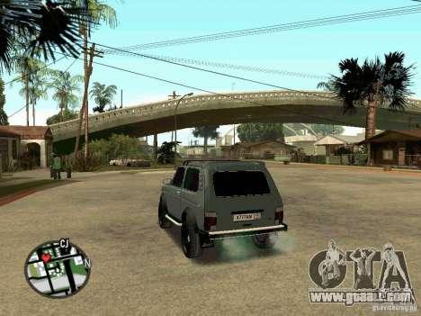 21213 Niva LADA for GTA San Andreas left view