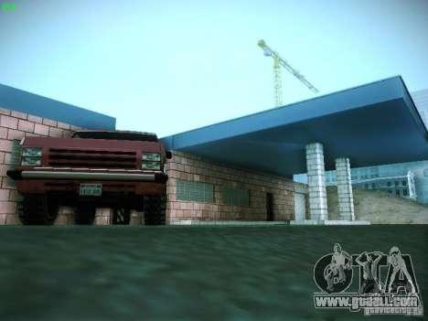 New garage in San Fierro for GTA San Andreas eighth screenshot