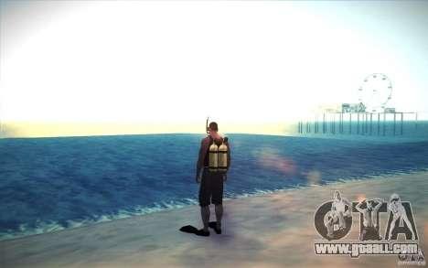 Scuba Tank for GTA San Andreas second screenshot