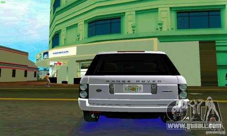 Land Rover Range Rover Supercharged 2008 for GTA Vice City right view