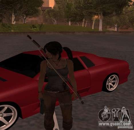 Skin Tomb Raider 2013 for GTA San Andreas