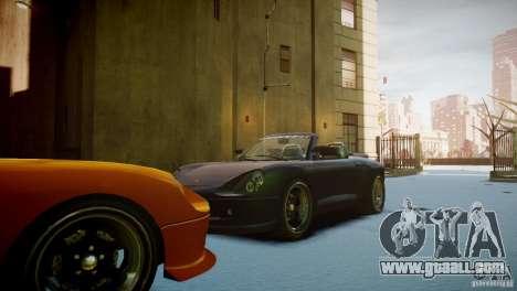 Comet Speedster for GTA 4 back view