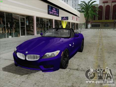 BMW Z4 2011 for GTA San Andreas
