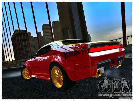 Dodge Challenger Calibri-Ace for GTA San Andreas left view