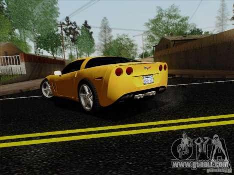 Chevrolet Corvette Z51 for GTA San Andreas left view