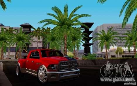 Dodge Ram 3500 Tuning for GTA San Andreas