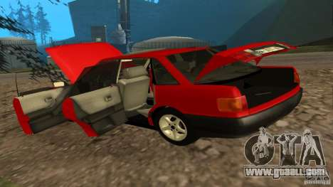 Audi 80 B3 v2.0 for GTA San Andreas back view