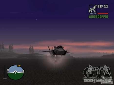 Rocket for GTA San Andreas third screenshot
