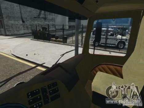 Mercedes-Benz Vanntankbil / Water Tanker for GTA 4 back view