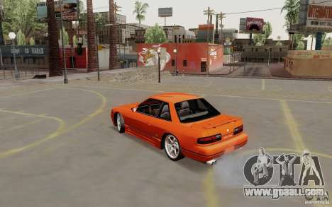 Nissan Silvia S13 for GTA San Andreas left view