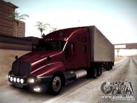 Kenworth T2000 V 2.7 for GTA San Andreas left view
