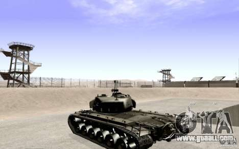T26 E4 Super Pershing v1.1 for GTA San Andreas left view