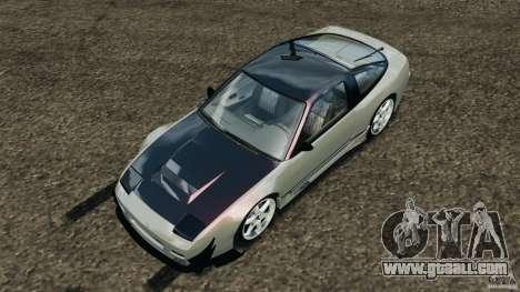 Nissan 240SX Kawabata Drift for GTA 4 bottom view