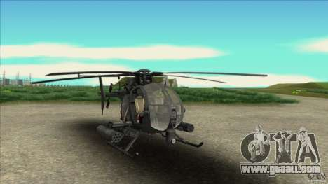 The helicopter from resident evil for GTA San Andreas