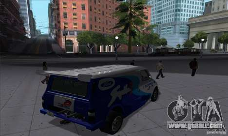 Ford Transit Supervan 3 2004 for GTA San Andreas right view