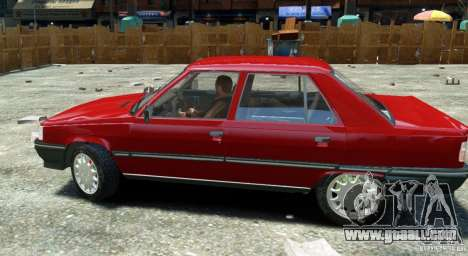 Renault 9 Broadway for GTA 4 right view