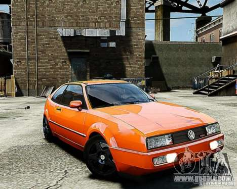 Volkswagen Corrado VR6 for GTA 4 back left view