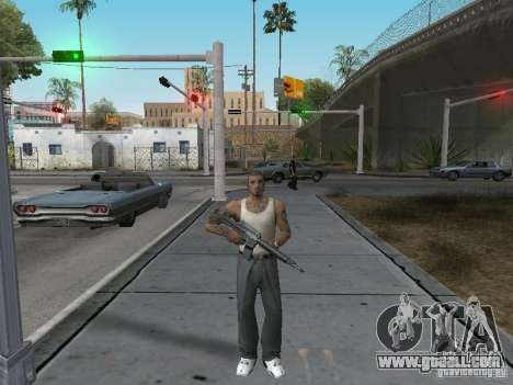 Change characters for GTA San Andreas second screenshot