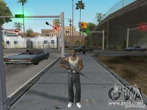 Change characters for GTA San Andreas second screenshot