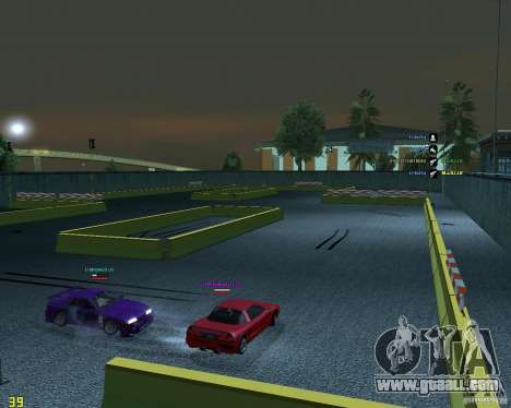 Drift Circuit for GTA San Andreas second screenshot